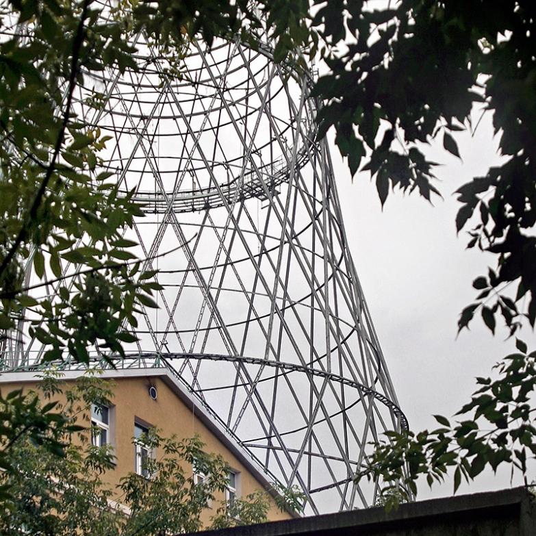 Evangelos Kotsioris, Shukhov Radio Tower, Moscow, 2008