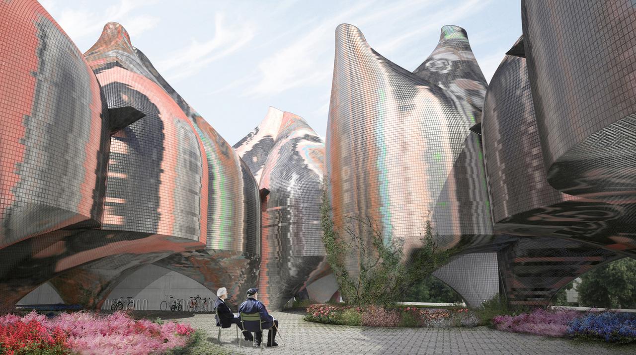 Young & Ayata - Bauhaus Museum Dessau - Courtyard