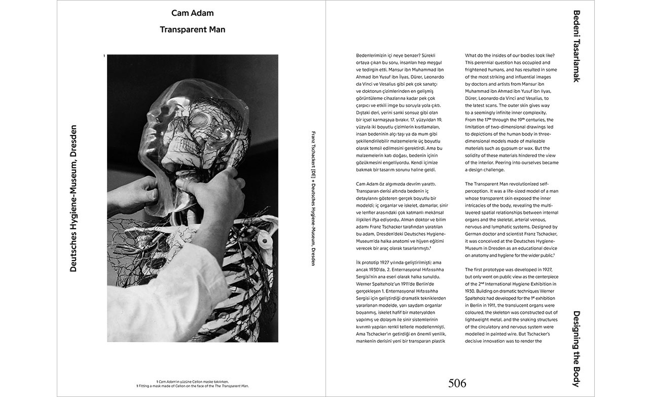 """Transparent Man"" In Are We Human? The Design of the Species, edited by Beatriz Colomina and Mark Wigley (Istanbul: Istanbul Foundation for Culture and Arts; Zürich, Switzerland: Lars Muller Publishers, 2016), 507–502"