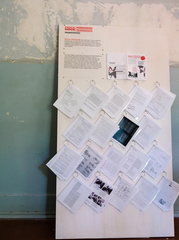 Radical Pedagogies at the Lisbon Triennial 2013