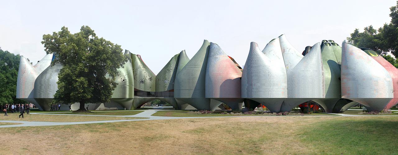Young & Ayata - Bauhaus Museum Dessau - Park View