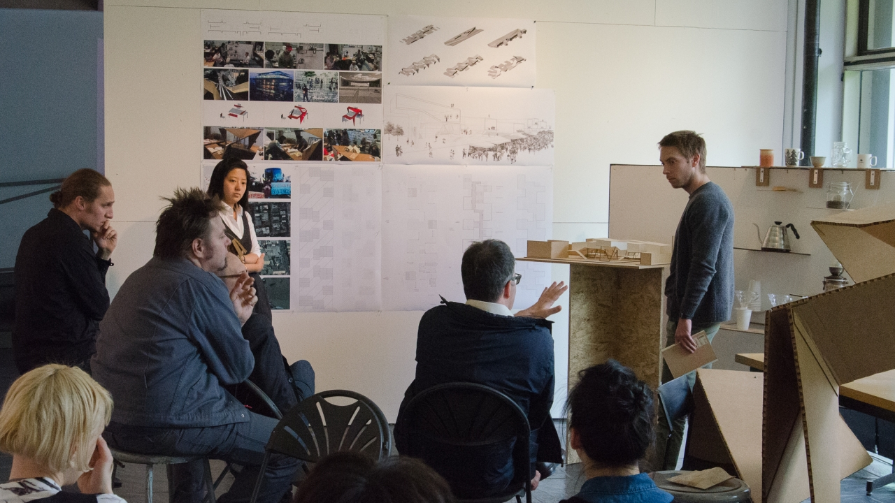 Kilian 502 Design Studio:  Lily Zhang and Van Kluytenaar.  Photo: Daniel Claro