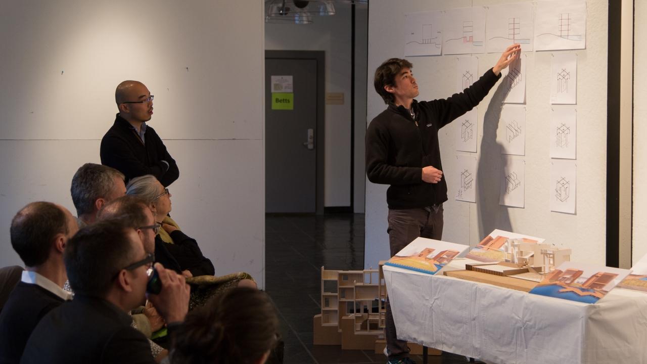 Lewis 503 Design Studio: Yang Li and Sasha Urano. Photo: Daniel Claro.
