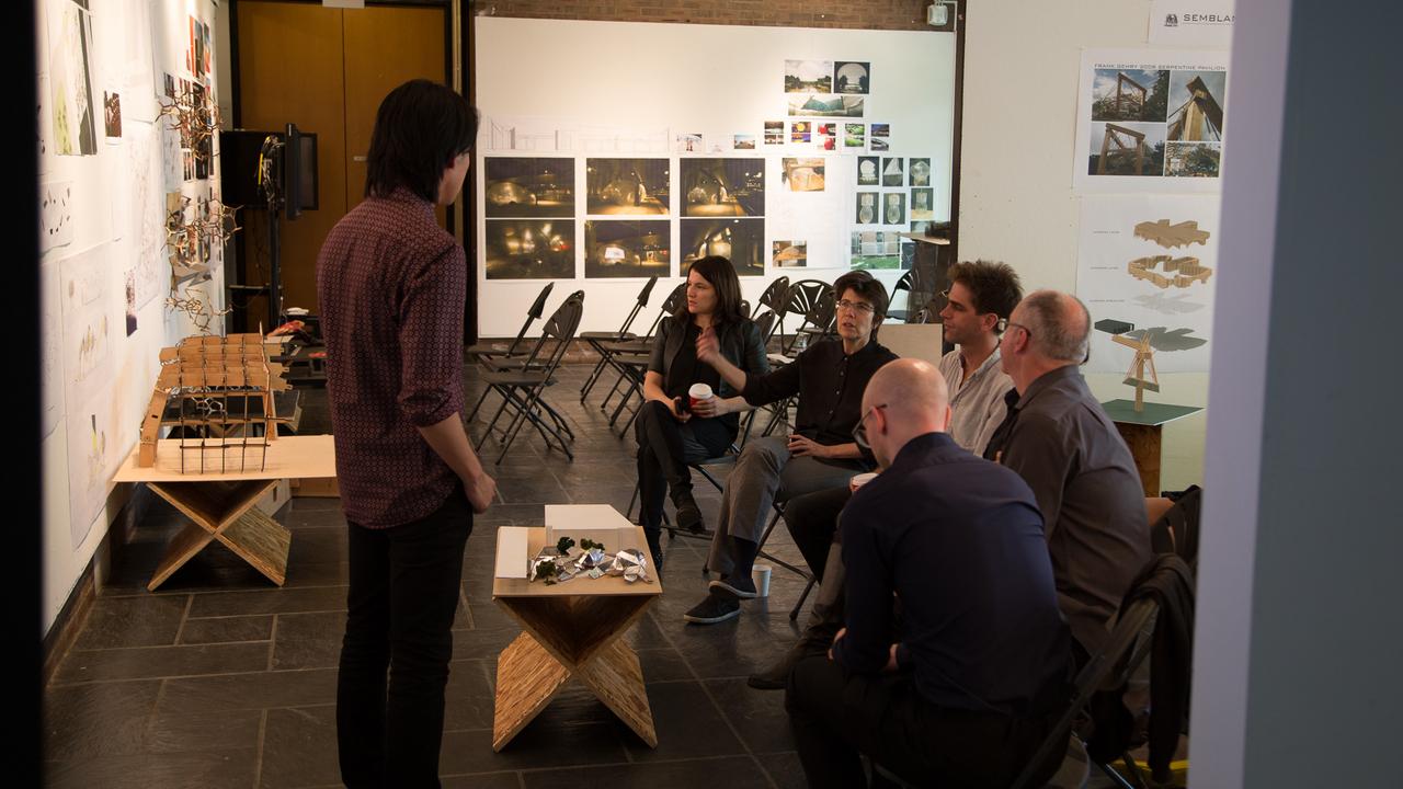 Eber / Diller JIW Studio:  Jeff Liu  (Photo: Daniel Claro).