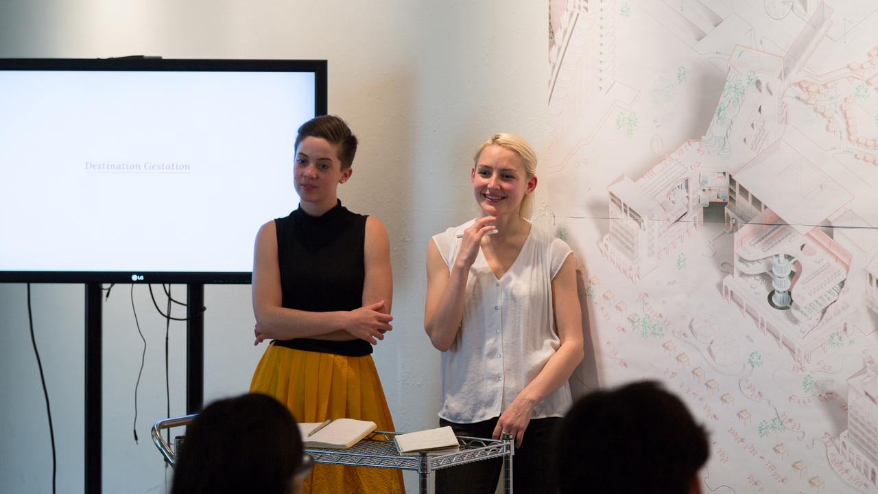 Jaque 506b Studio:  Rennie Jones and Abby Stone  (Photo: Daniel Claro).