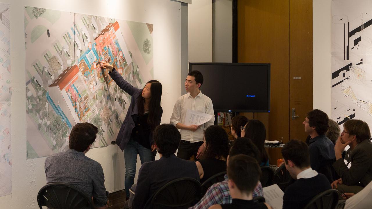 Jaque 506b Studio:  Wan Li and Bowen Zhang  (Photo: Daniel Claro).
