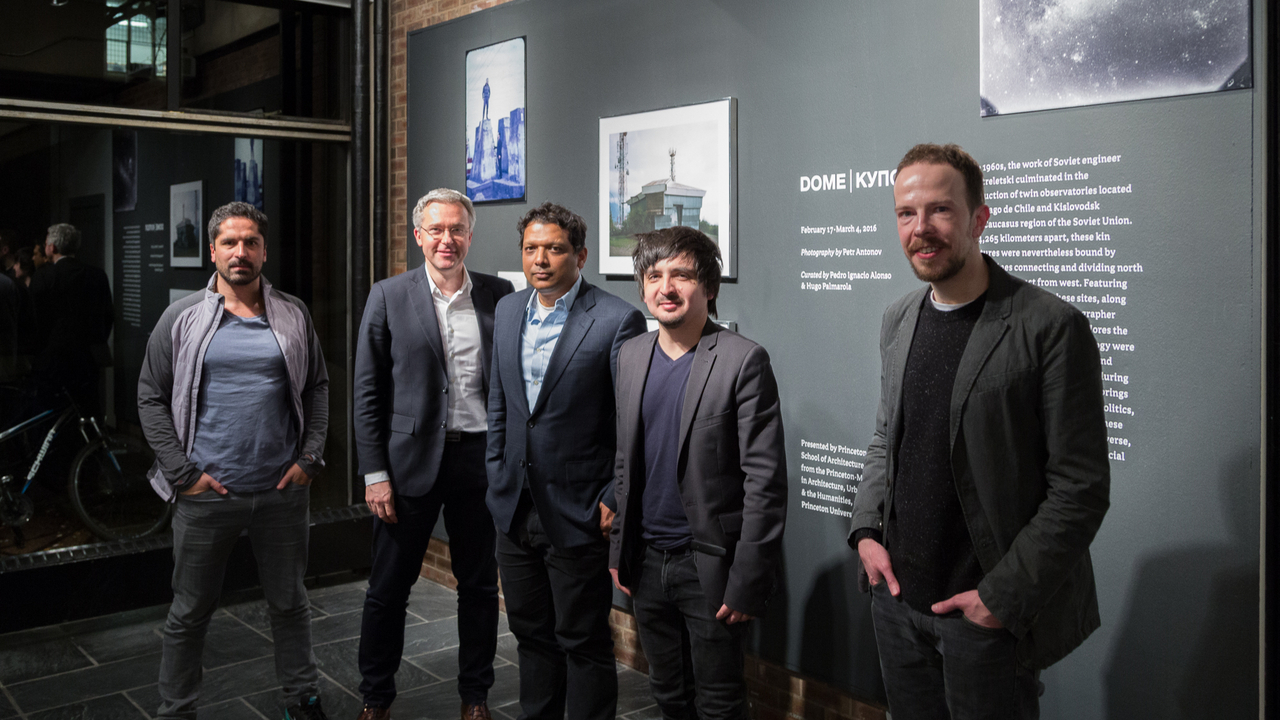 Hugo Palmaroma, Philipp Meuser, Asif Siddiqi, Pedro Ignacio Alonso, and Petr Antonov (Photo: Daniel Claro)