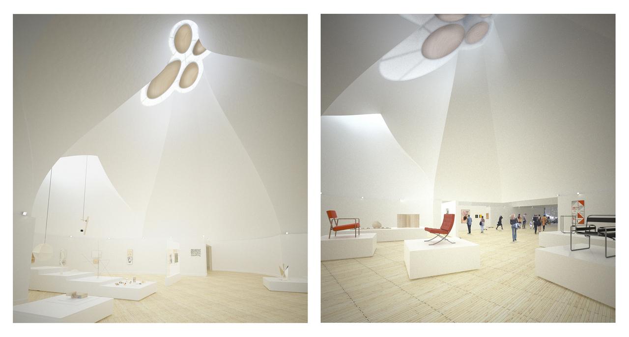 Young & Ayata - Bauhaus Museum Dessau - Gallery Interior