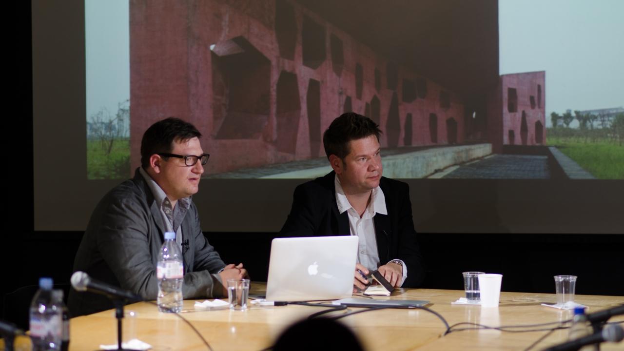 Simon Hartmann and Simon Frommenwiler.  Photo by Dan Claro.