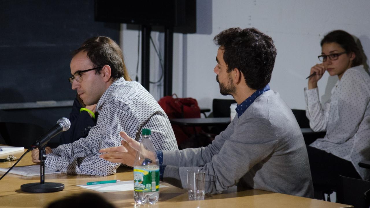 Lluis Alexandre Casanovas Blanco, and Ignacio Gonzales Galan. Photo by Dan Claro.