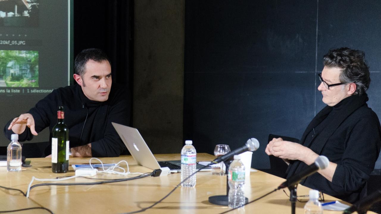 Alejandro Zaera-Polo and Jean-Philippe Vassal.  Photo by Dan Claro.