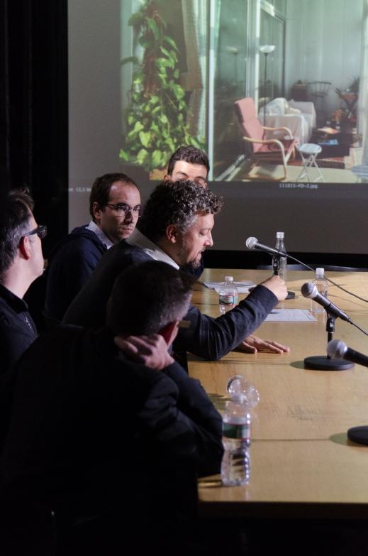 From left: Paul Lewis, Michael Meredith, Michael Young, Lluis Alexandre Casanovas Blanco, and Ignacio Gonzales Galan.  Photo by Dan Claro.
