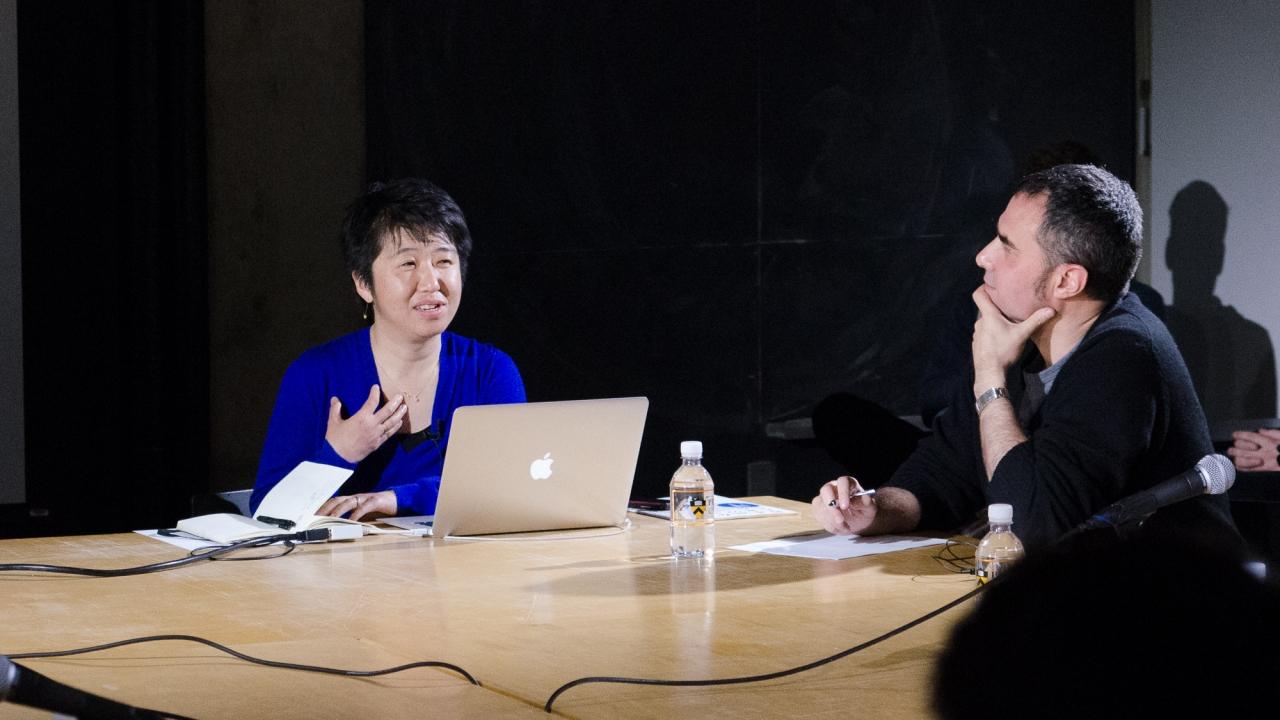 Momoyo Kaijima and Alejandro Zaera-Polo.  Photo by Dan Claro.