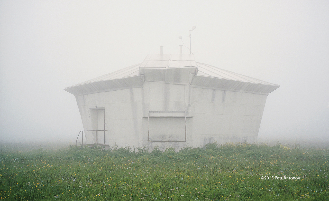 Vertical circle dome of Yuri Streletski's design, Kislovodsk Mountain Observatory in the Caucasus, Russian Federation. Photo Petr Antonov, 2015.