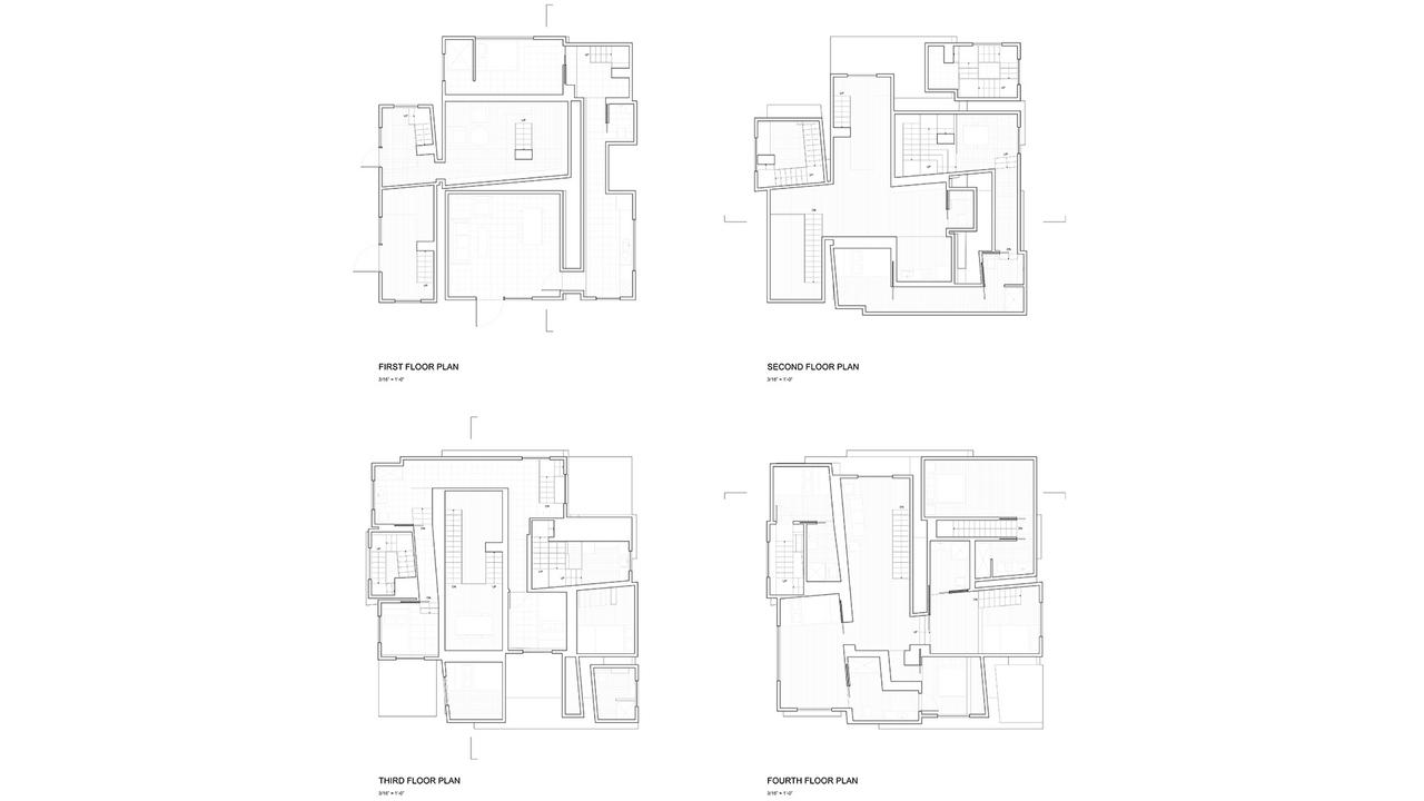 Three Apartments