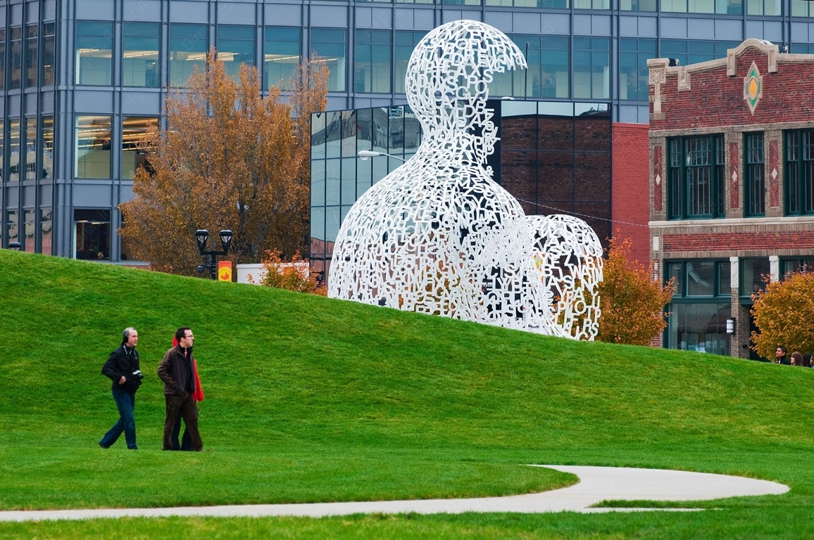 Agrest & Gandelsonas, John and Mary Pappajohn Sculpture Park, Des Moines
