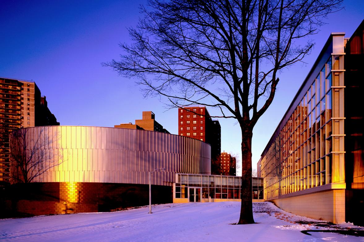 Agrest & Gandelsonas, Melrose Community Center, South Bronx, NY.