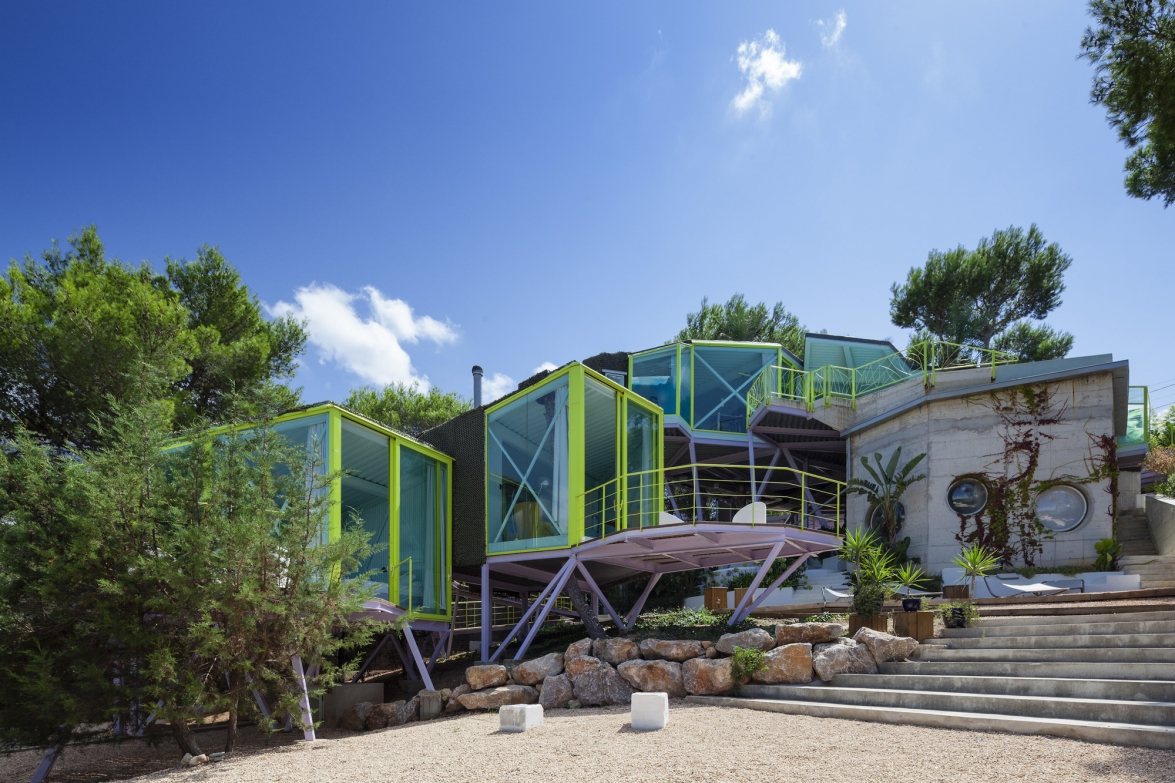 House in Never Never Land, Ibiza. Andrés Jaque/Office for Political Innovation.