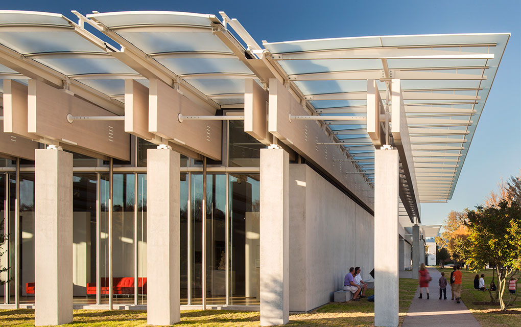 Kimbell Art Museum Expansion, Fort Worth TX (Renzo Piano Building Workshop)