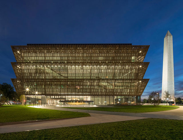 National Museum of African American History and Culture, Washington DC (Freelon Adjyae Bond/Smith Group)