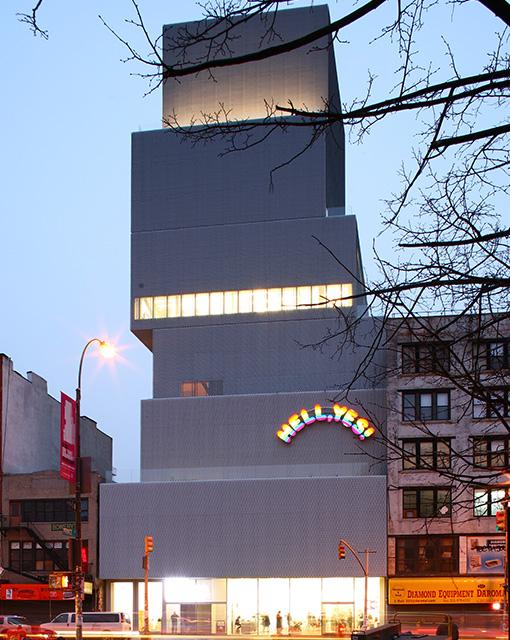New Museum of Contemporary Art, New York NY (SANAA)