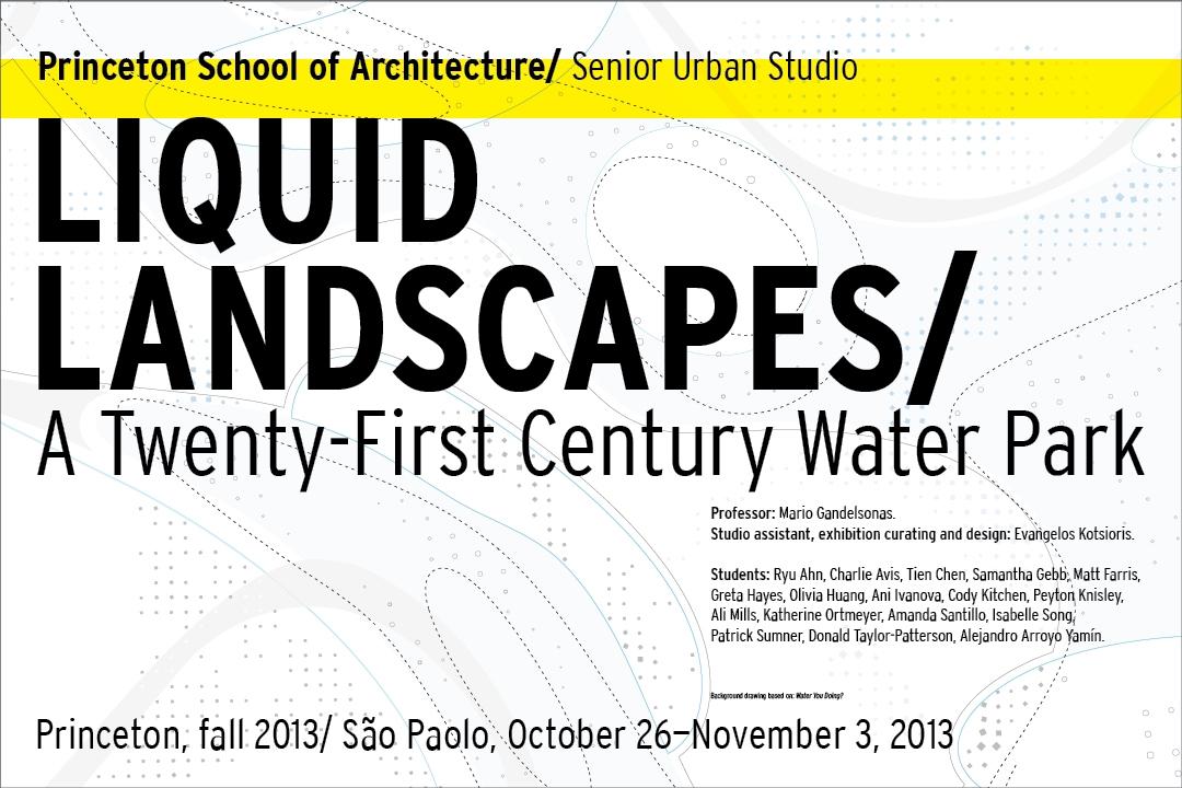 Liquid Landscapes/ A Twenty First-Century Water Park