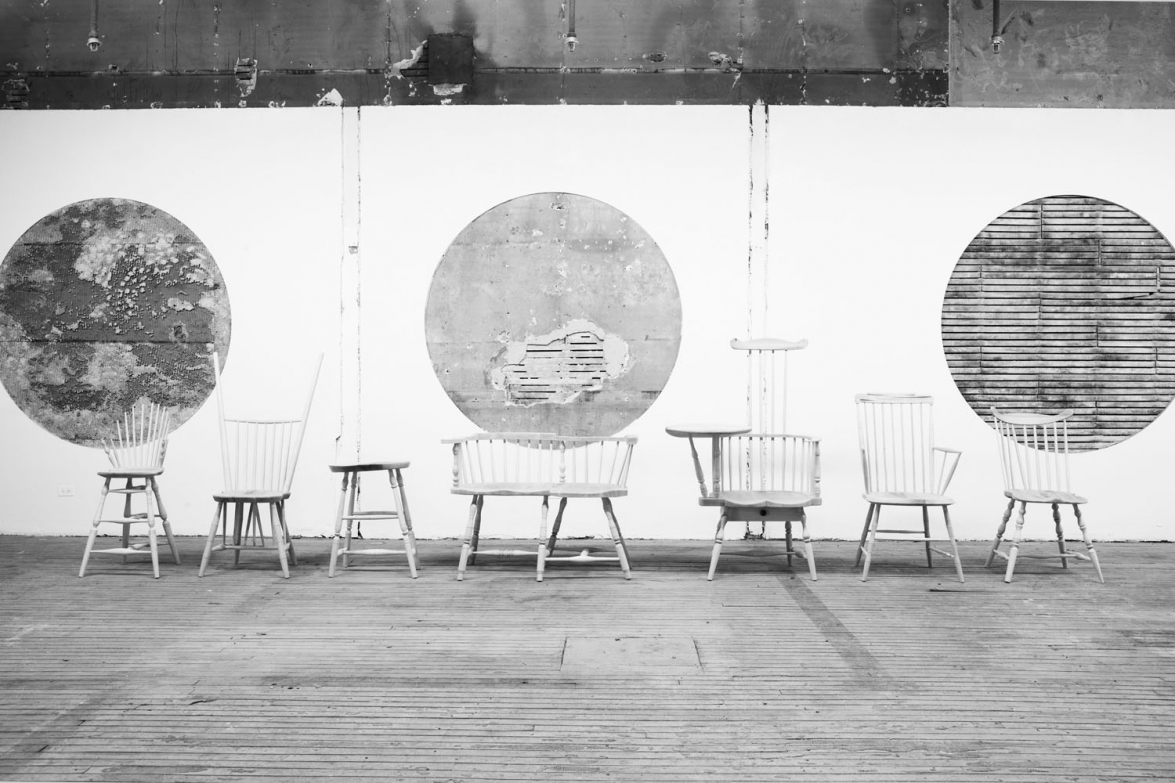 Wrong Chairs, Composite. Courtesy of Volume Gallery and Norman Kelley.