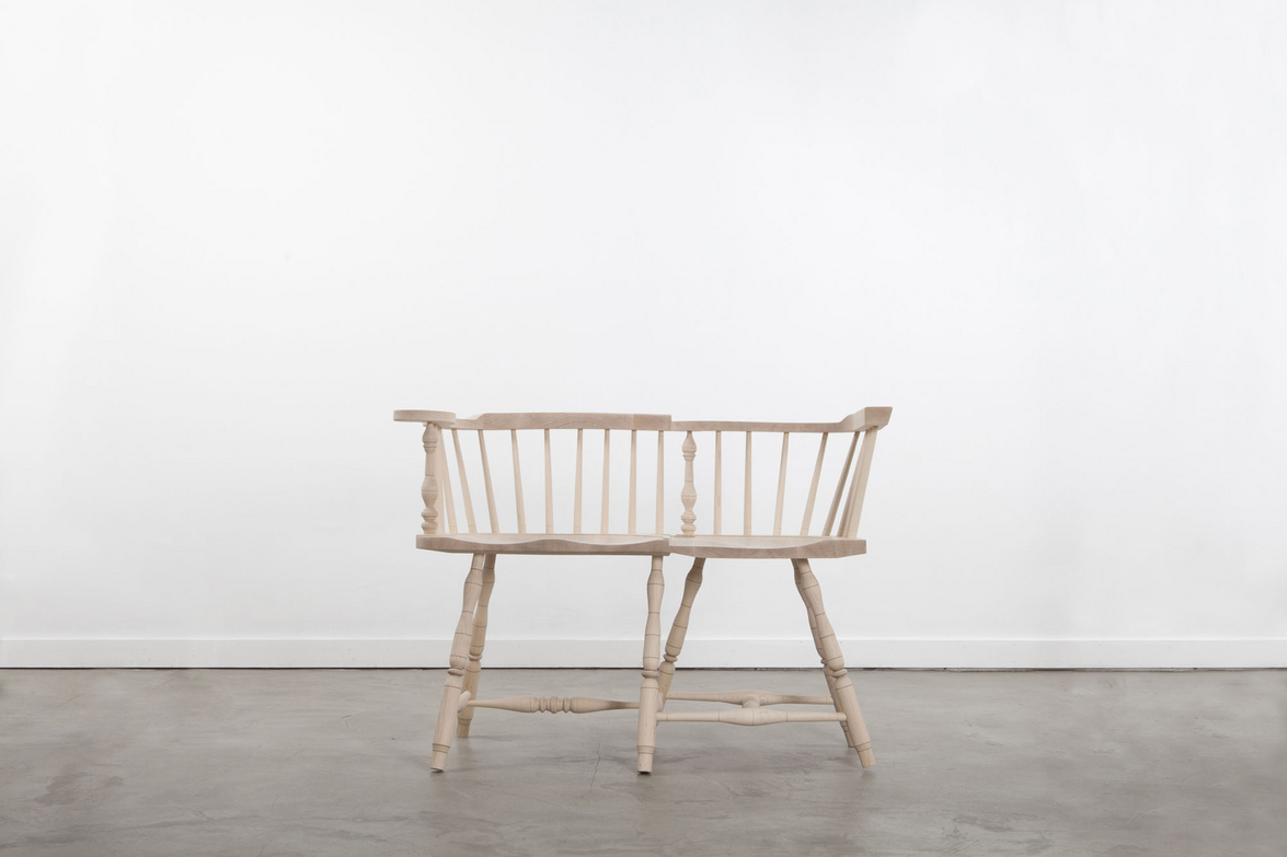 Settee, Wrong Chairs Collection, 2013.  Photo courtesy of Volume Gallery.