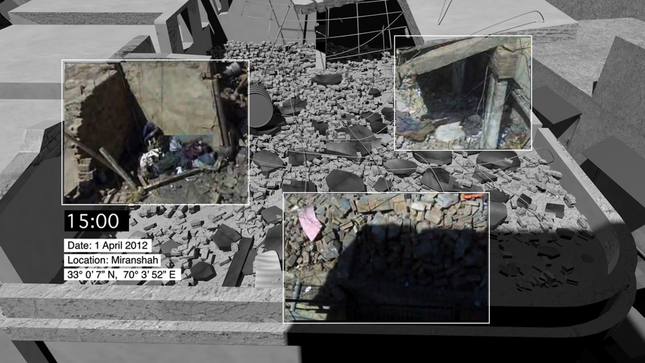Forensic Architecture, UNSRCT Drone Strike Investigation