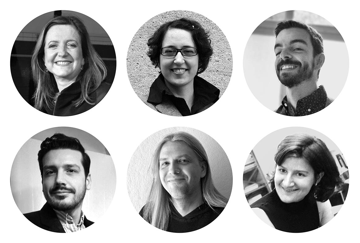 The RP curatorial team: Beatriz Colomina, Anna-Maria Meister, Ignacio G. Galán, Evangelos Kotsioris, Britt Eversole, Federica Vannucchi.