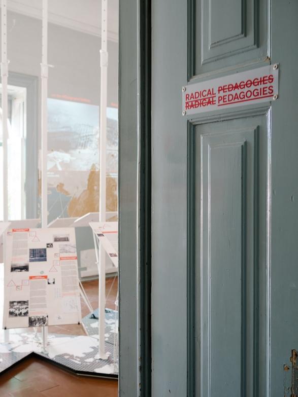 """Exhibition """"Radical Pedgagogies"""" at the Lisbon Triennial 2013"""