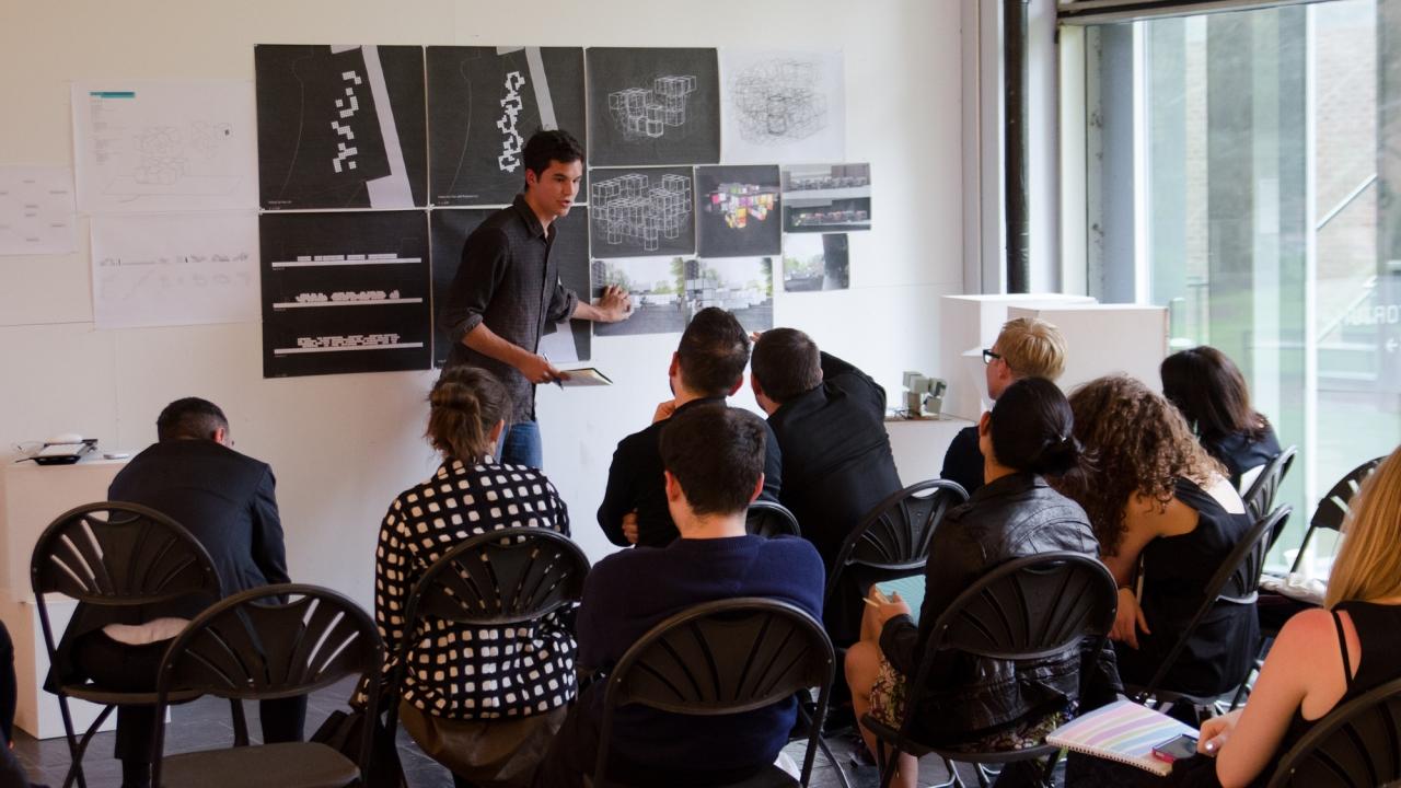 Charles Avis presents in Hayley Eber's JIW Design Studio.