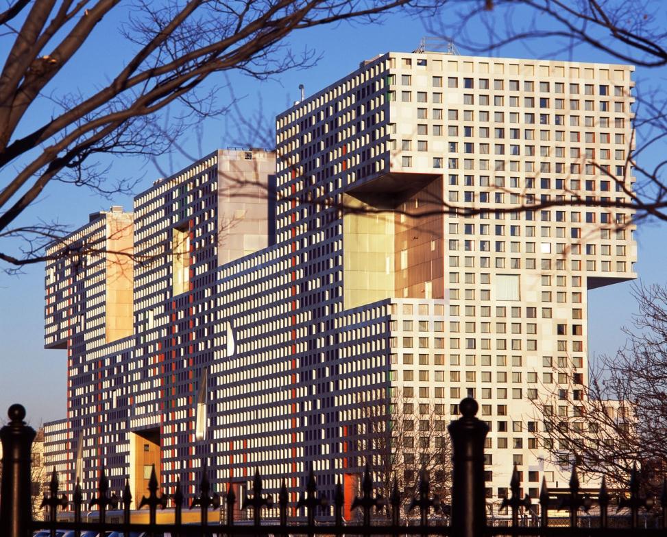 Simmons Hall at MIT (Cambridge, MA) © Andy Ryan, www.andyryan