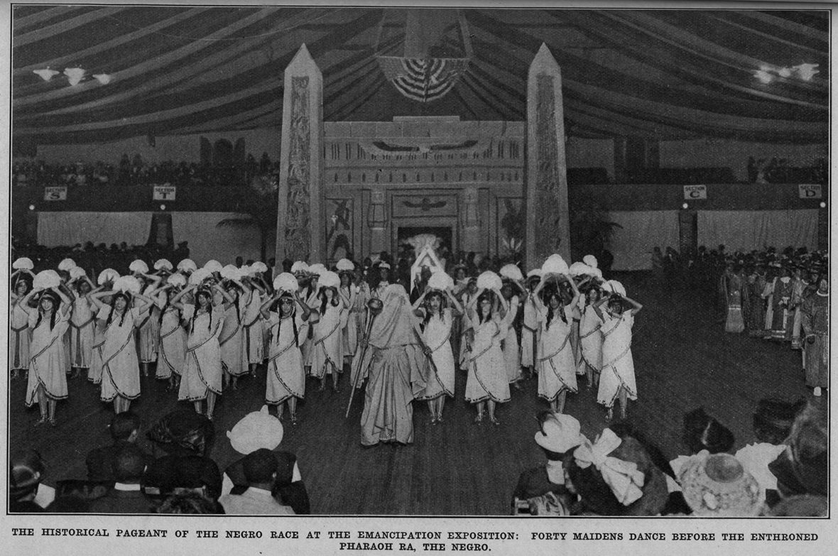 "W.E.B. Du Bois, ""Star of Ethiopia"" Pageant, National Emancipation Exposition, New York City, 1913"