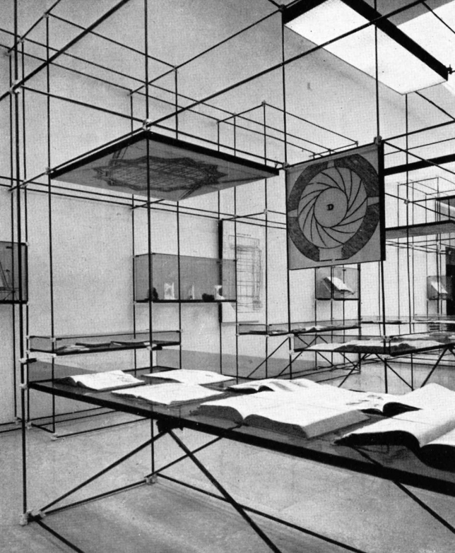 IX Triennale di Milano (1951), Lo studio delle proporzioni (The Study of Proportions), from  Domus 261 (September 1951), 16.