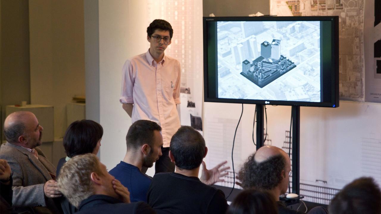 Aleksandr Bierig, Design for Living. Advisor: Michael Meredith. Photo by Phi Phan.