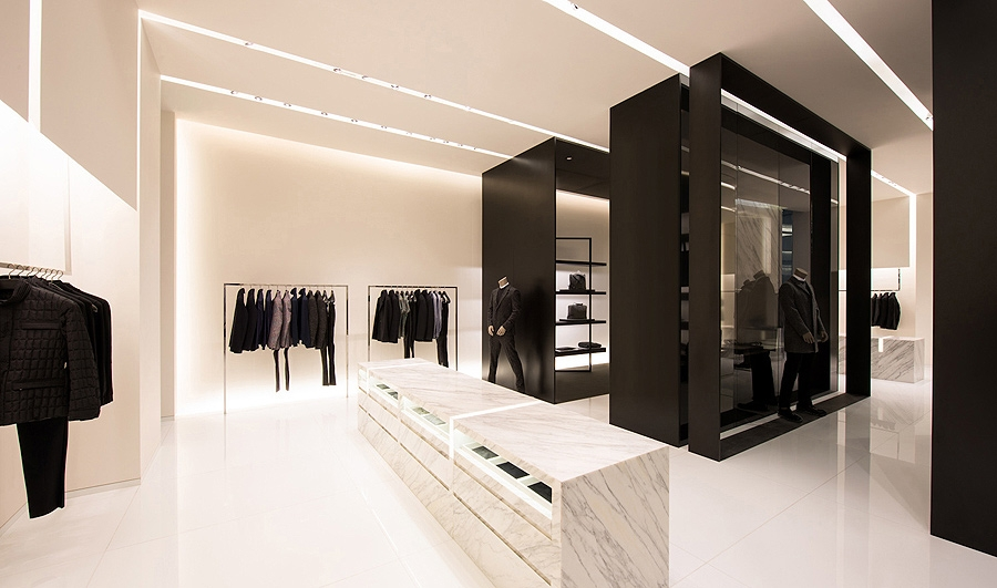"SPaN Architecture, ""Calvin Klein Collection, Forum 66,"" Shenyang, China."