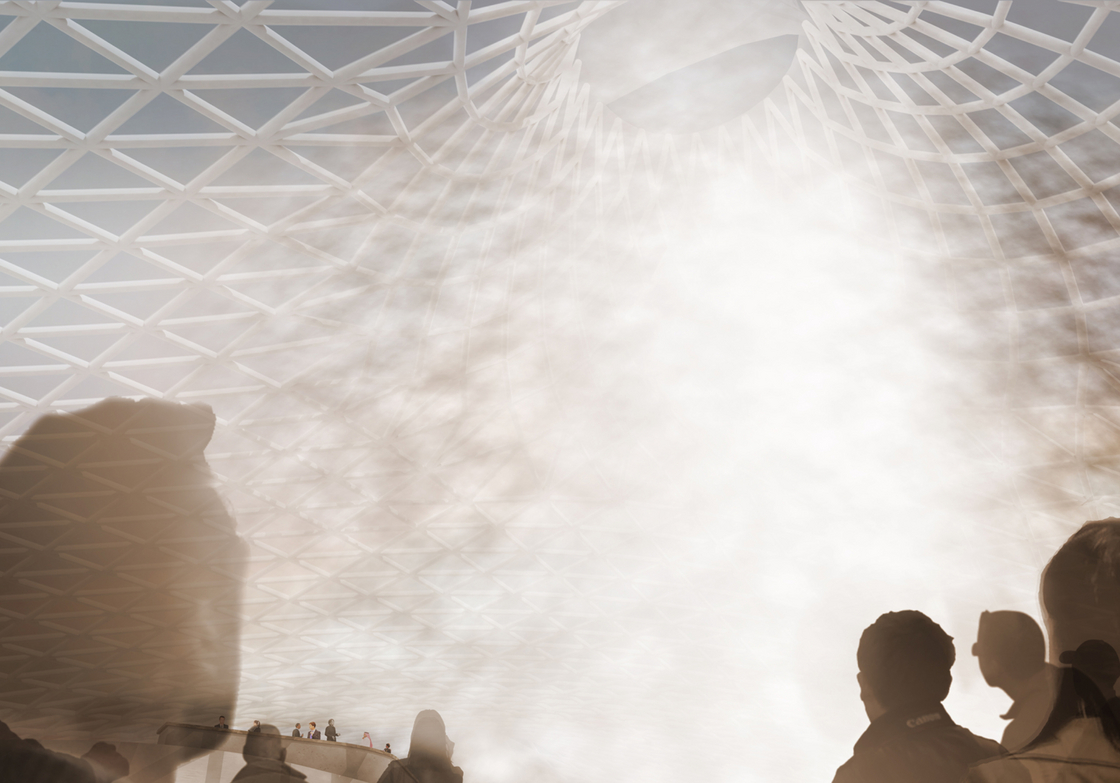 Rendered view of the Oculus during the day