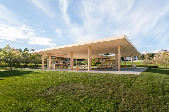 """""""Chicago Horizon,"""" Lakefront Kiosk Competitioin Winner, Ultramoderne"""