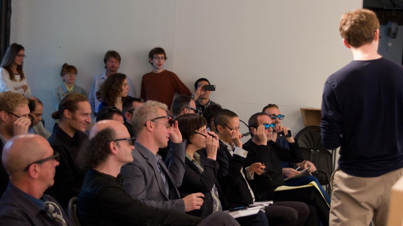 Michal Koszycki, Stupid Ideas in Architecture: Transparency. Advisor: Michael Meredith. Photo by Phi Phan.
