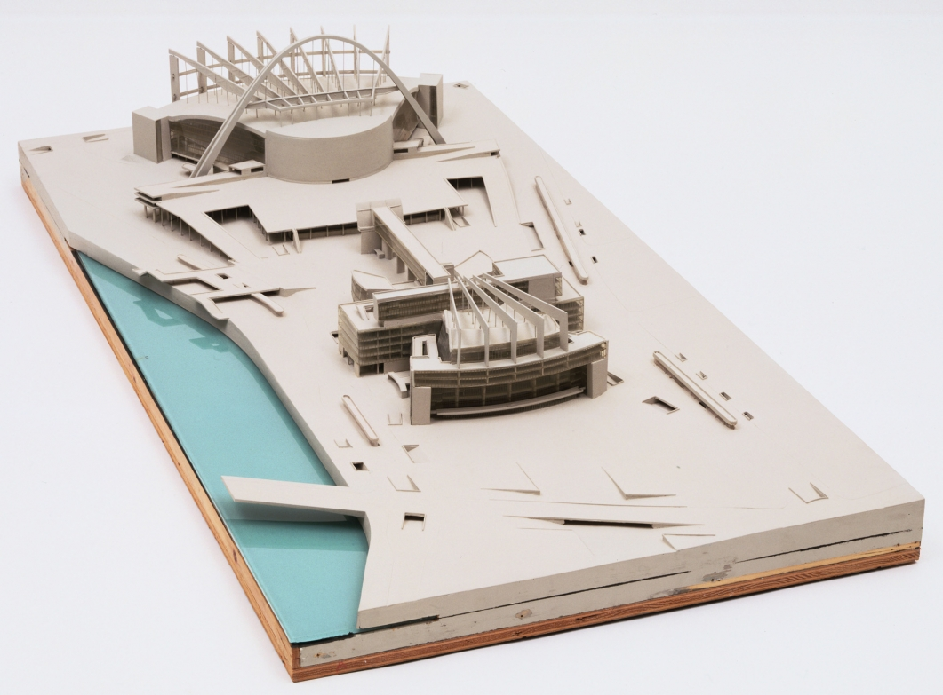Le Corbusier. Palace of the Soviets, Moscow. 1931-32. Model, 1932.  The Museum of Modern Art, New York. Special Purchase Fund, 1941. © 2013 Artists Rights Society (ARS), New York / ADAGP, Paris / FLC