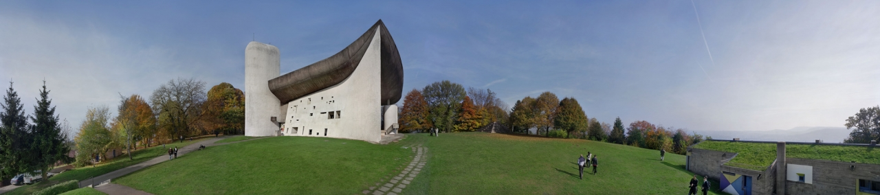Le Corbusier. Chapelle Notre-Dame du Haut, Ronchamp. 1950–55. Photograph. 2012. The Museum of Modern Art, New York. Gift of Elise Jaffe + Jeffrey Brown. Photo © 2013 Richard Pare