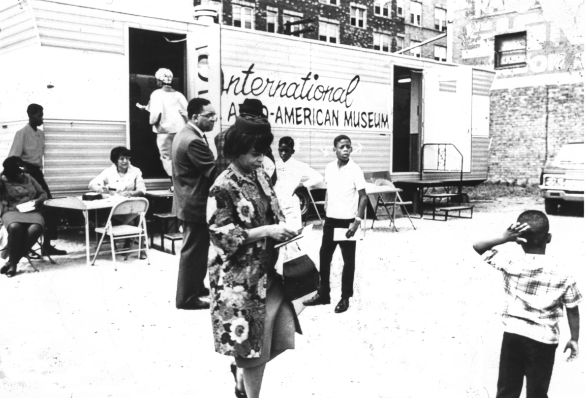 Mobile Museum, International Afro-American Museum, Detroit, 1967