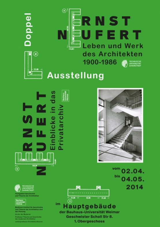 "Invited Lecture at the Symposium ""Neufert in Weimar"""