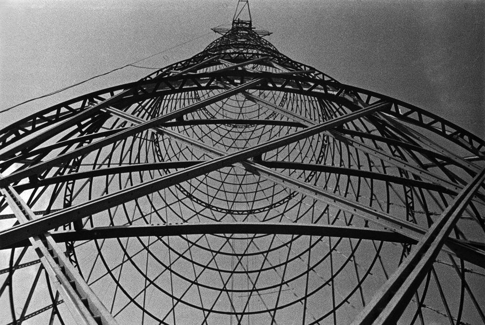 Aleksander Rodchenko, Shukhov Radio Tower, Moscow, 1929